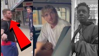 Man Pulls Up On Sidemen Members & Logan Paul In London