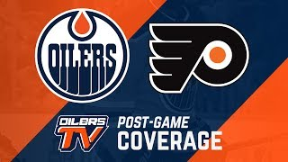 ARCHIVE | Post-Game Coverage - Oilers vs. Flyers