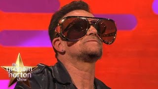 Bono Reveals Reason He Always Wears Sunglasses – The Graham Norton Show