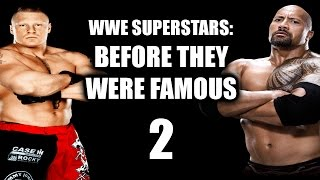 WWE Superstars: Before They Were Famous 2