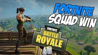 Fortnite Good Squad Win (Kinda Got Carried)