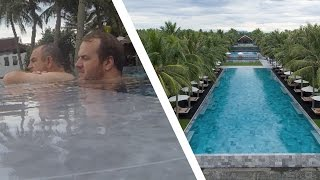 ARRIVING AT LUXURY HOTEL IN VIETNAM - THE NAM HAI (HOI AN)