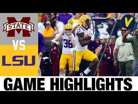 Mississippi State vs #6 LSU Highlights | Week 4 College Football Highlights | 2020 College Football