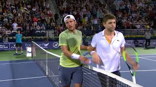 2018 ATP SF Highlights: Pouille, Bautista Agut Will Play For Title