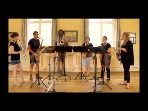 Toccata & Fugue in D minor - saxophone sextet