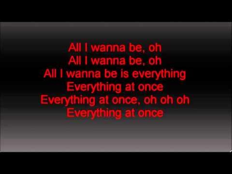 Lenka-Everything at Once (lyrics) yt