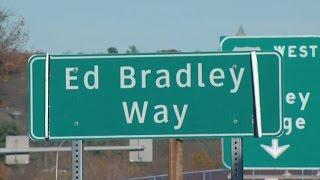 "Philadelphia street renamed to honor ""60 Minutes"" co-anchor Ed Bradley"