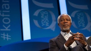 Can the power of ideas counter violent extremism? A discussion withKofiAnnan.