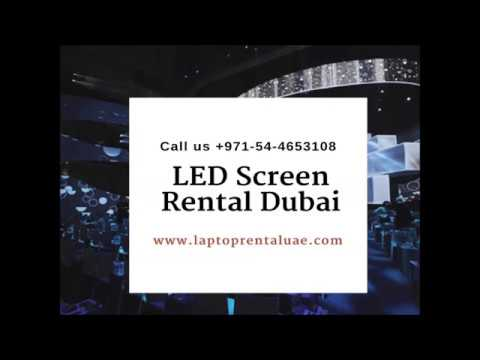 32 inches to 103 inches LED Screen rental in Dubai ...