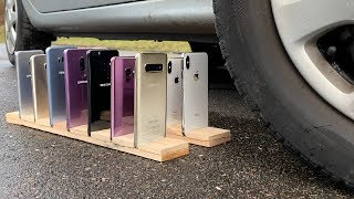 Many Samsung Galaxy vs iPhones vs CAR