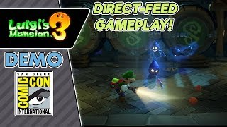 Luigi's Mansion 3 Direct-Feed Gameplay - Comic Con Demo Preview