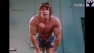 YOUNG ARNOLD SCHWARZENEGGER WORKOUT COMPILATION