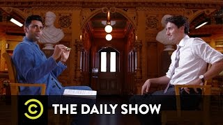 Prime Minister Justin Trudeau Welcomes Syrian Refugees to Canada: The Daily Show