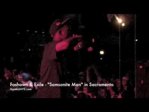 "Fashawn & Exile - ""Samsonite Man"" in Sacramento"