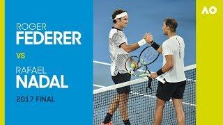 Roger Federer vs Rafael Nadal - Australian Open 2017 Final | AO Classics