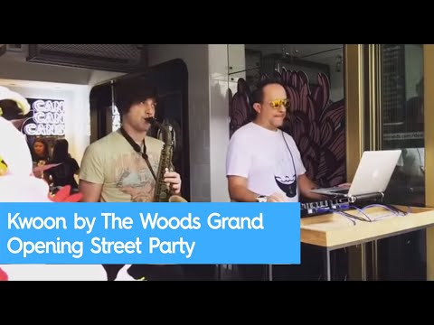 Kwoon by The Woods Grand Opening Street Party
