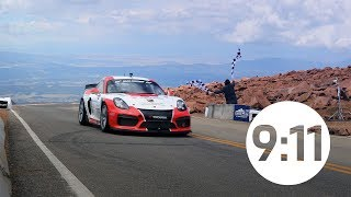 Pikes Peak International Hill Climb: Porsche history & the Porsche Cayman GT4 Clubsport Trophy