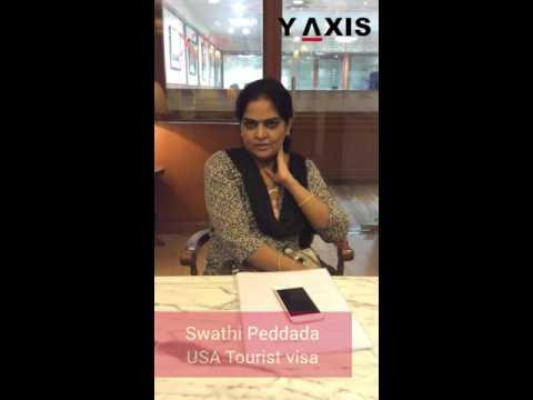 Swathi Peddada Country applied US Tourist visa PC Tara