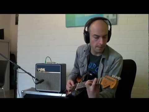 VOX AC4C1 demo with Fender CS 60's Heavy Relic Strat