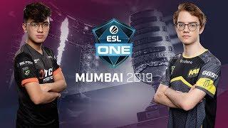 Dota2 - TNC Predator vs NAVI - ESL One Mumbai - Fase de Grupos Dia 2 - Juego 3