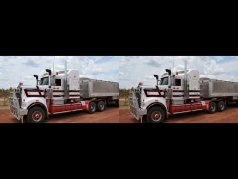 DUSTY ROADS, AUSTRALIA. 3D Photography for VR Headset by Roman Klein. romanklein4K3D