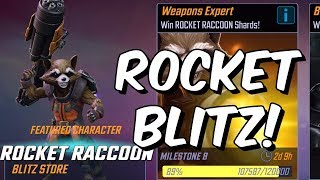 Rocket Blitz Grind and Chill /w Seatin - Marvel Strike Force