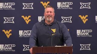 BlueGoldNews.com: WVU Football Matt Moore 10/8/19