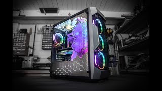 Building the ULTIMATE Water-Cooled Antec DF500 RGB PC | bit-tech Modding