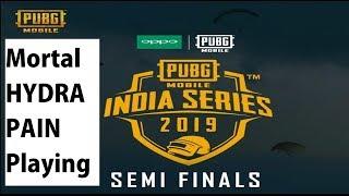 Mortal Vs Hydra Vs Pain | 1 Crore Prize OPPO x PUBG MOBILE India Series | Semifinals | Day 1 |