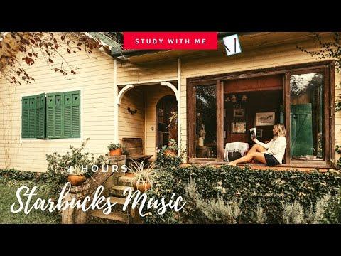 [無廣告版] 房間一秒變星巴克 ~ 咖啡館爵士音樂 & 讀書音樂 - 4 HOURS Starbucks Jazz Music / coffee shop music