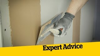 8 Top Tips for Plastering