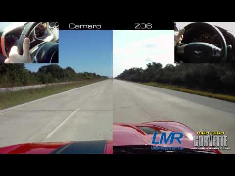 1100hp Corvette vs 750hp Camaro