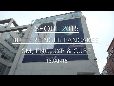 SEOUL 2015: Day 18: Butterfinger Pancakes, SM, FNC, JYP & CUBE - January 18 | MDNBLOG