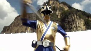 Goseiger vs Shinkenger Henshin and Role Call