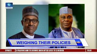2019 Presidential Race: Weighing Plans Of Major Candidates Pt.1 |Politics Today|