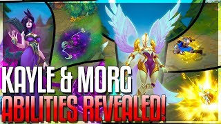 KAYLE & MORGANA REWORK ALL ABILITIES REVEALED!! New Champion - The Righteous & The Fallen | LoL