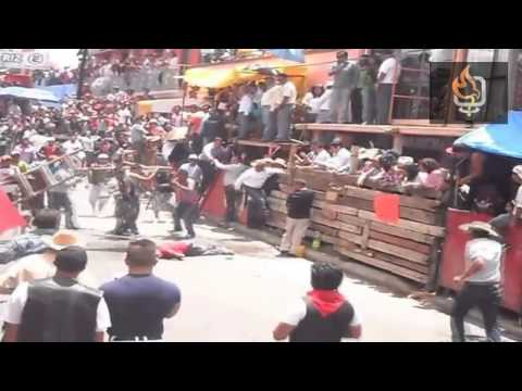 pelea huamantlada 2013