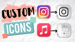 How to Customize App Icons on iPhone (iOS 14) | Kayla's World