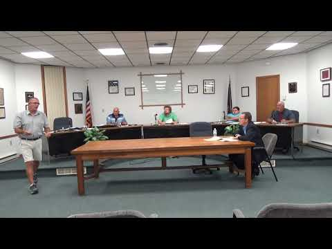Rouses Point Village Board Meeting  7-19-21