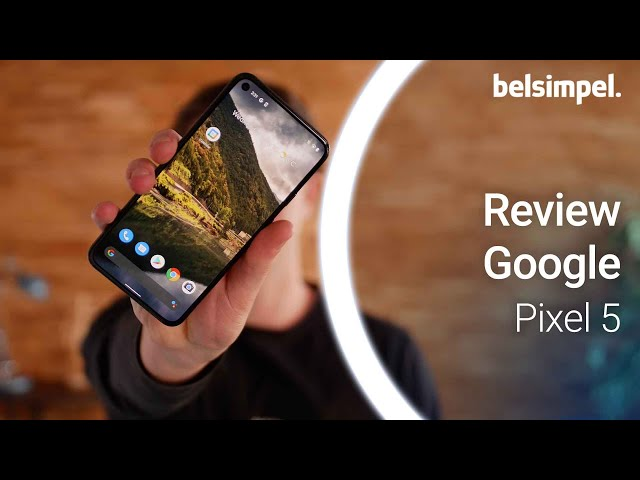 Belsimpel-productvideo voor de Google Pixel 5 Zwart