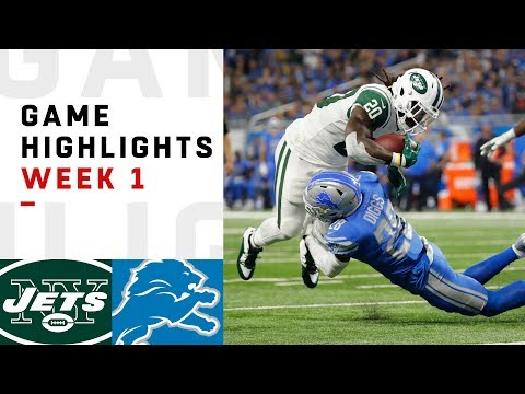 New York Jets vs Detroit Lions