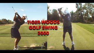 Tiger Woods Golf Swing slow motion 2000