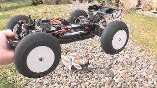 RCing Around- Exotek Losi Mini 8ight T, Neu-powered!! Teaser, in the sunshine.