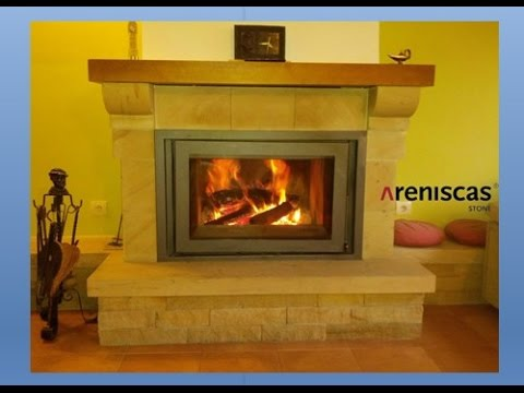 9.- STONE & FIRE RANGE - Natural stone FIREPLACES - CHIMENEAS de piedra natural