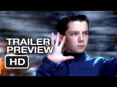 Ender's Game Official Final Trailer Preview (2013) - Harrison Ford Movie HD
