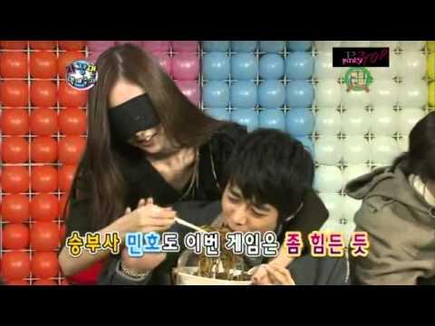 [110122] Minho's Jajangmyun Contest !!