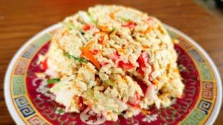 How to Make Fluffy Crab Stick Scramble Eggs at Home 芙蓉蟹柳在家如何炒得蓬松的秘诀 | Egg Recipes