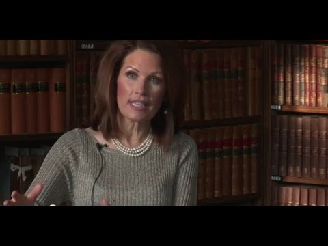 Women in US Politics | Michelle Bachmann - OxfordUnion  - 9iWrqpLoFBE -
