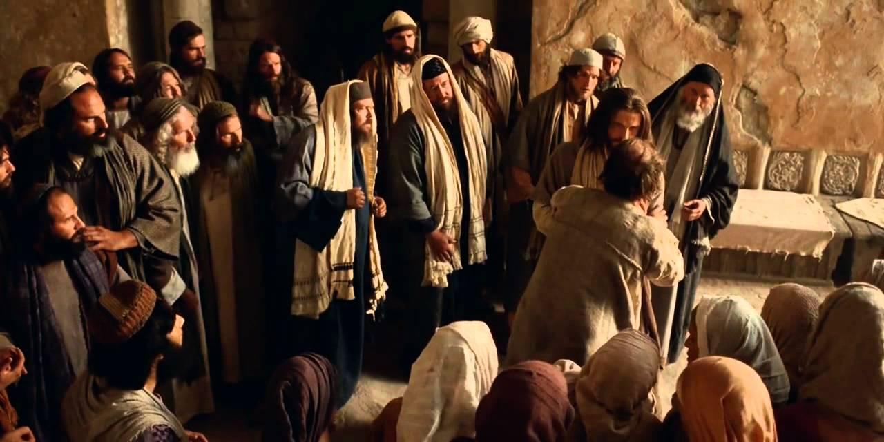 Jesus Heals A Possessed Man Youtube