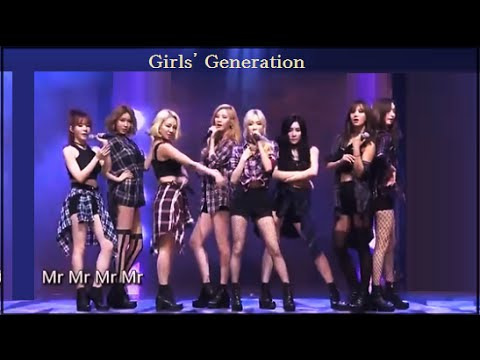 [1080p] 150831 [SNSD] 少女時代 / Tencent K‐POP Live Music